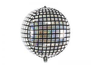 Fóliový balón - holografická disco guľa
