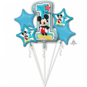 Kytica balónov - 1. narodeniny Mickey