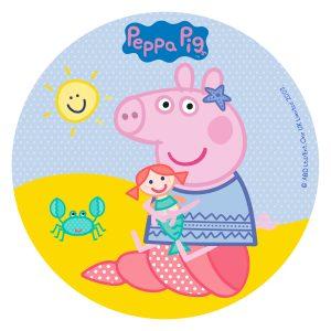 Dekora Jedlý papier bez cukru - Peppa Pig 16 cm