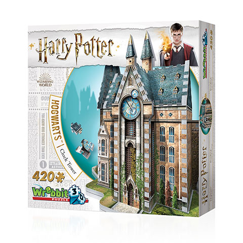 Distrineo Rokfortská hodinová veža Harry Potter - 3D puzzle-3