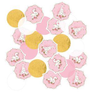 Konfety - Ružový zámok/Labuť