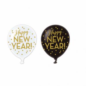 Balóniky Happy New Year - 6 ks