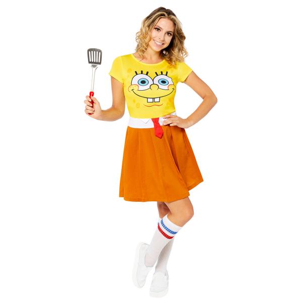 Dámsky kostým - Spongebob Veľkosť - dospelý: L