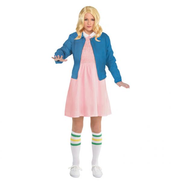 Dámsky kostým Stranger Things - Eleven Veľkosť - dospelý: M