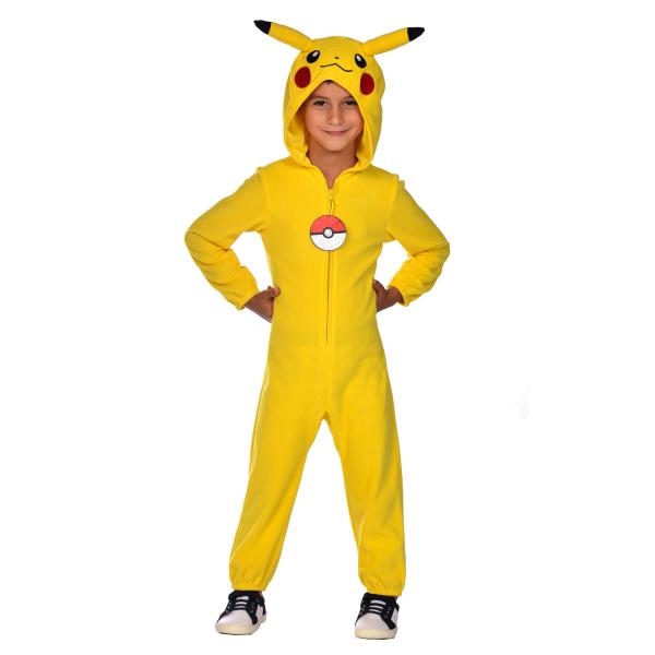 Detský kostým - Pikachu overal Veľkosť - deti: S