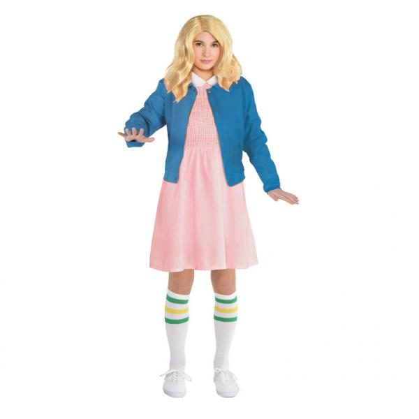 Detský kostým Stranger Things - Eleven Veľkosť - deti: 12 - 14 rokov