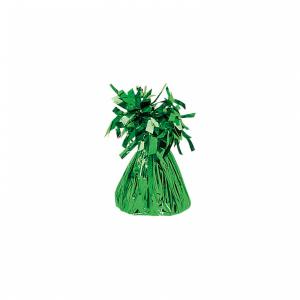 Fóliové závažie na balóny zelené