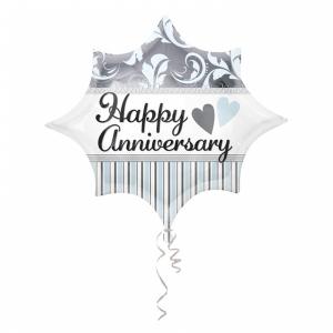Fóliový balón - Happy Anniversary