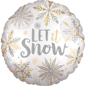 Fóliový balón - Let it snow