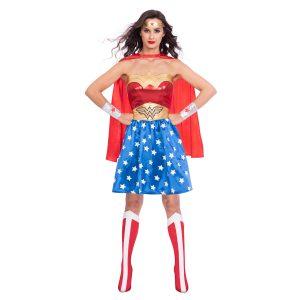 Dámsky kostým Wonder Woman Classic Veľkosť - dospelý: L