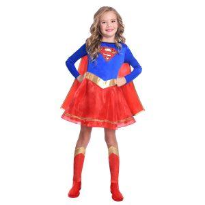 Detský kostým - Supergirl Classic Veľkosť - deti: 8 - 10 rokov