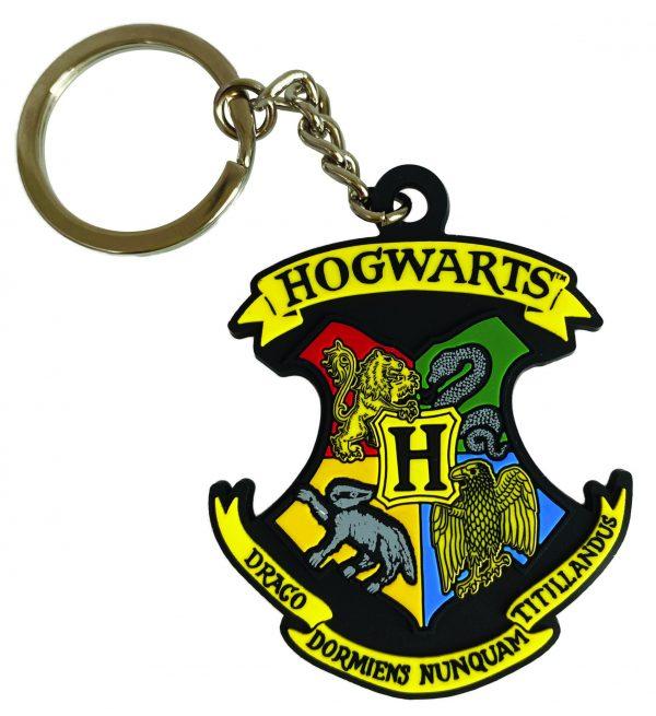 Gumená kľúčenka Harry Potter - Rokfort